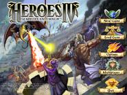 Heroes IV Menu