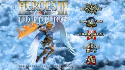 Heroes of Might & Magic III HD Edition Main Menu Theme (2014, Ubisoft) 1080p Animated
