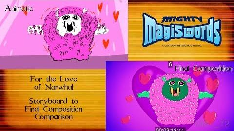 Behind the Magiswords Season 2! For the Love of Narwhal!