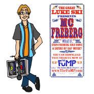 Luke ski mc freberg promo art