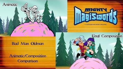 Behind the Magiswords Bad Man Oldman