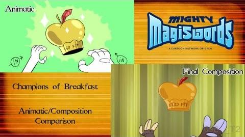 Behind the Magiswords Champions of Breakfast