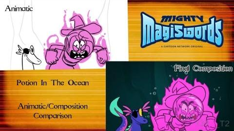 Behind the Magiswords Potion In The Ocean