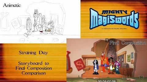 Behind the Magiswords Season 2! Straining Day!
