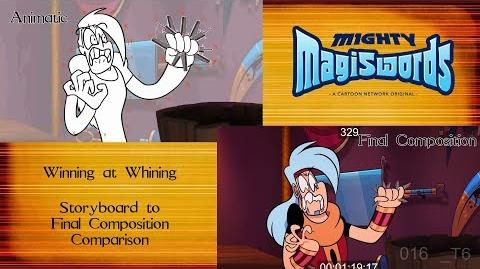Behind the Magiswords Season 2! Winning at Whining!