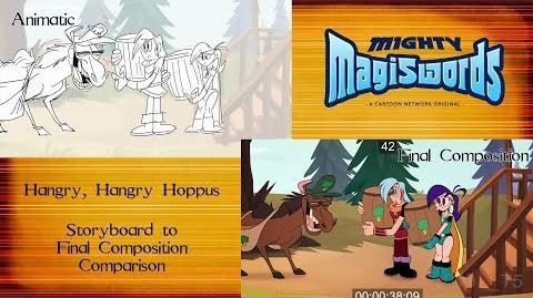 Behind the Magiswords Season 2! Hangry, Hangry Hoppus