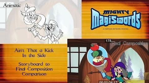 Behind the Magiswords Season 2! Ain't That a Kick In the Side!