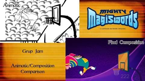 Behind the Magiswords Grup Jam