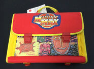 Cartable Mighty Max rouge