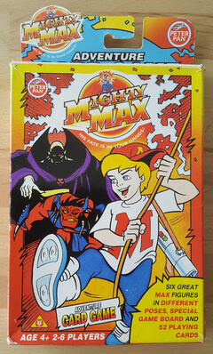 Mighty Max Adventure Card Game