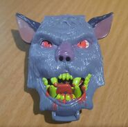 Mighty Max Hounds Werewolf playset
