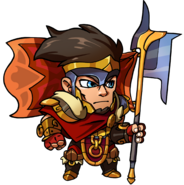 Legion, God of War sprite