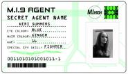 ID card 1 - Keri Summers