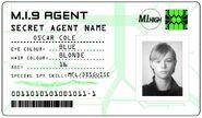 ID card 1 - Oscar Cole