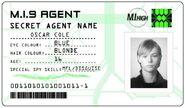 ID card 2 - Oscar Cole