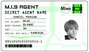 ID card 1 - Dan Morgan
