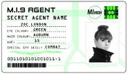 ID card 1 - Zoe