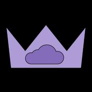 Purpblob crown