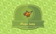 Magic Lamp in Journal
