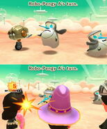 Robo-Pengy attacks