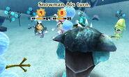 Snowman attacks