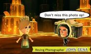 Roving photographer event