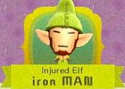 Injured elf