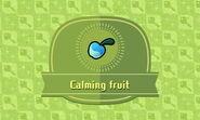Calming fruit