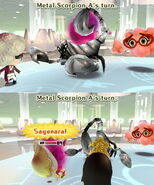 Metal Scorpion Lethal Sting
