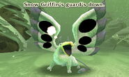 Snow Griffin guard down