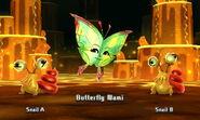 Scared Butterfly in-battle