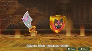 Sylveon Blade and Incineor Shield