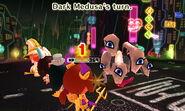 Dark Medusa attacks