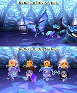 Death Butterfly using Glass Breath