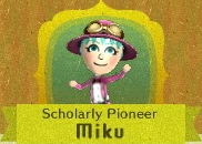 Scholarly pioneer