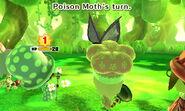 Poison Moth attacks