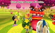 Extra Spicy Burger Standard Attack (with no Mii swallowed)