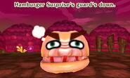Hamburger Surprise guard down