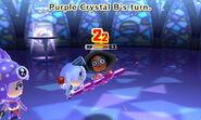 Purple Crystal attacks