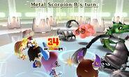 Metal Scorpion attacks