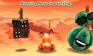 Running Nose dancing