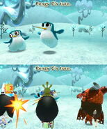 Pengy attacks