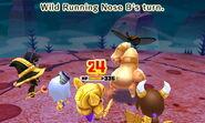 Wild Running Nose attacks