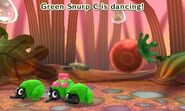 Green snurp distracted