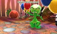 Super Alien distracted