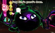 Frog King guard down