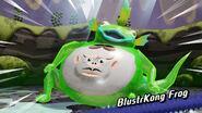 BlusterKong Frog