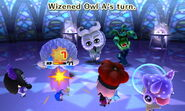 Wizened Owl attacks