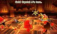 Gold Crystal attacks