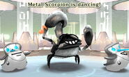 A Metal Scorpion that's been distracted.